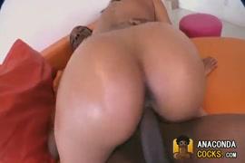 Ass big dick her in